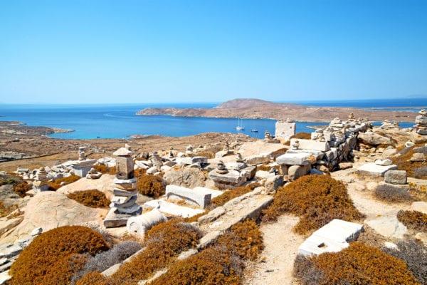Die altgriechischen Mythen von Delos