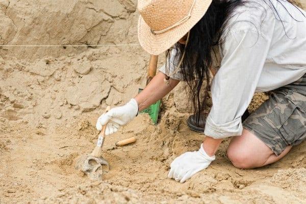 """Eine Leidenschaft für die Archäologie: """"zu gehen, wo alte Füße getreten sind"""""""