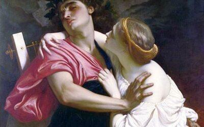 Schauen Sie nicht zurück! Eine Lektion von Orpheus und Eurydike aus der griechischen Mythologie